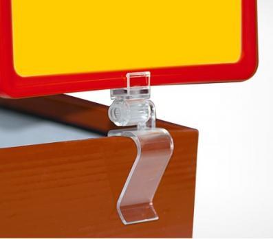 Клипса-держатель рамки с изменяемым углом