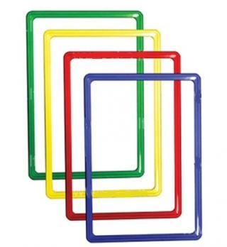 Рамка пластиковая А4 красный
