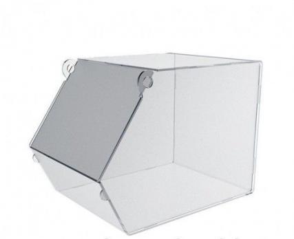 Диспенсер для сыпучих продуктов из ПЭТ ( с крышкой) 300х200х150