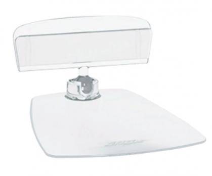 Ценникодержатель на прямоугольной подставке ( прозрачный , ножка 0мм)