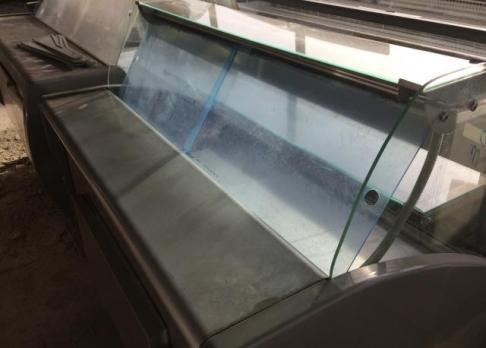 Раздвижные шторки для холодильной витрины , 30х60см/3мм (оргстекло)