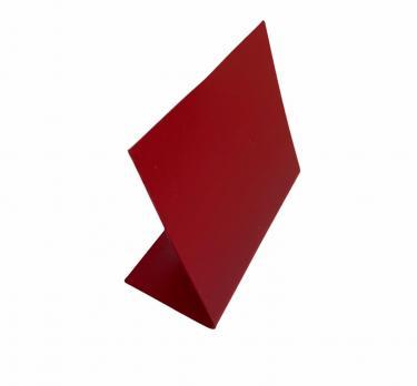 Меловой красный ценник L (75х60мм)